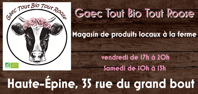 Gaec Tout Bio Tout Roose