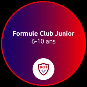 Formule Club Junior 6-10 ans inclus