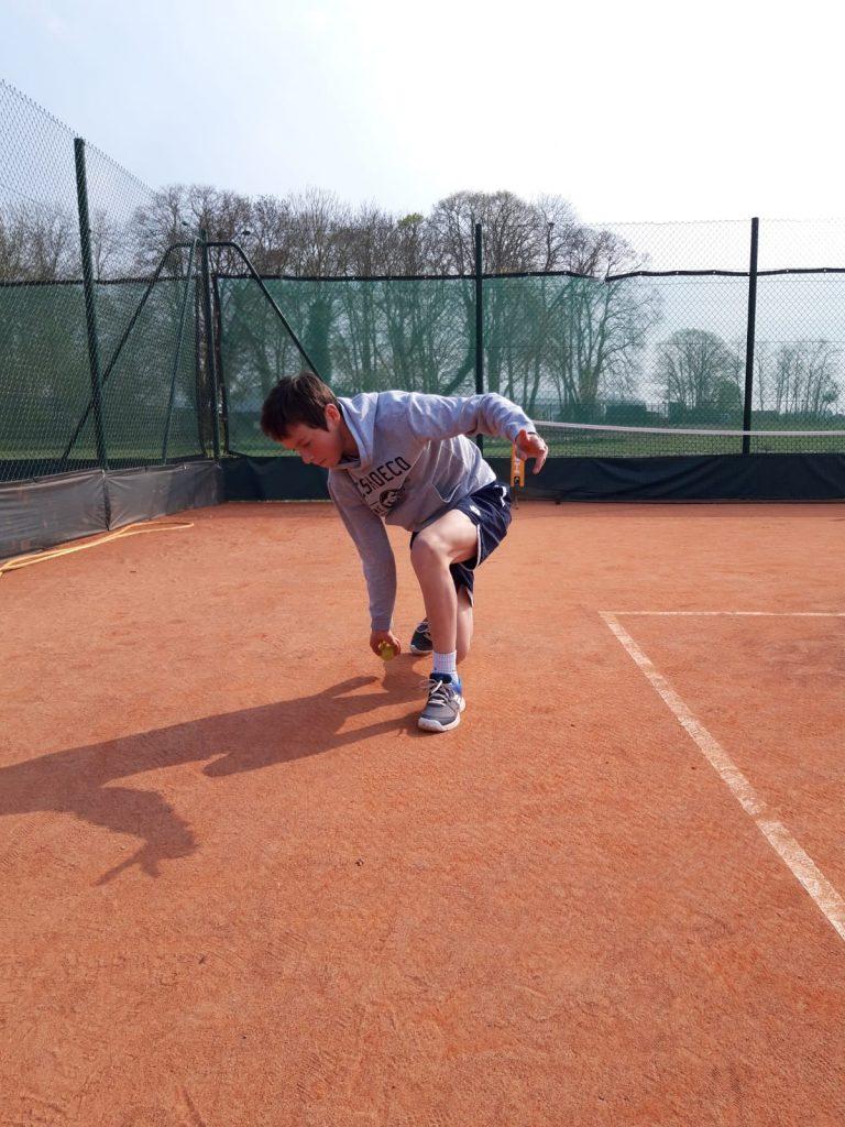 Marc ramasseur de balles Roland Garros