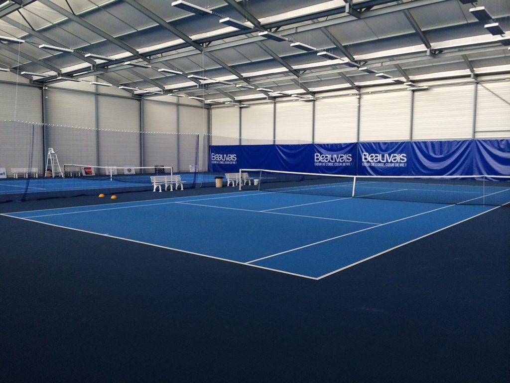 Nos installations au Beauvais Oise Tennis à Beauvais dans l'Oise
