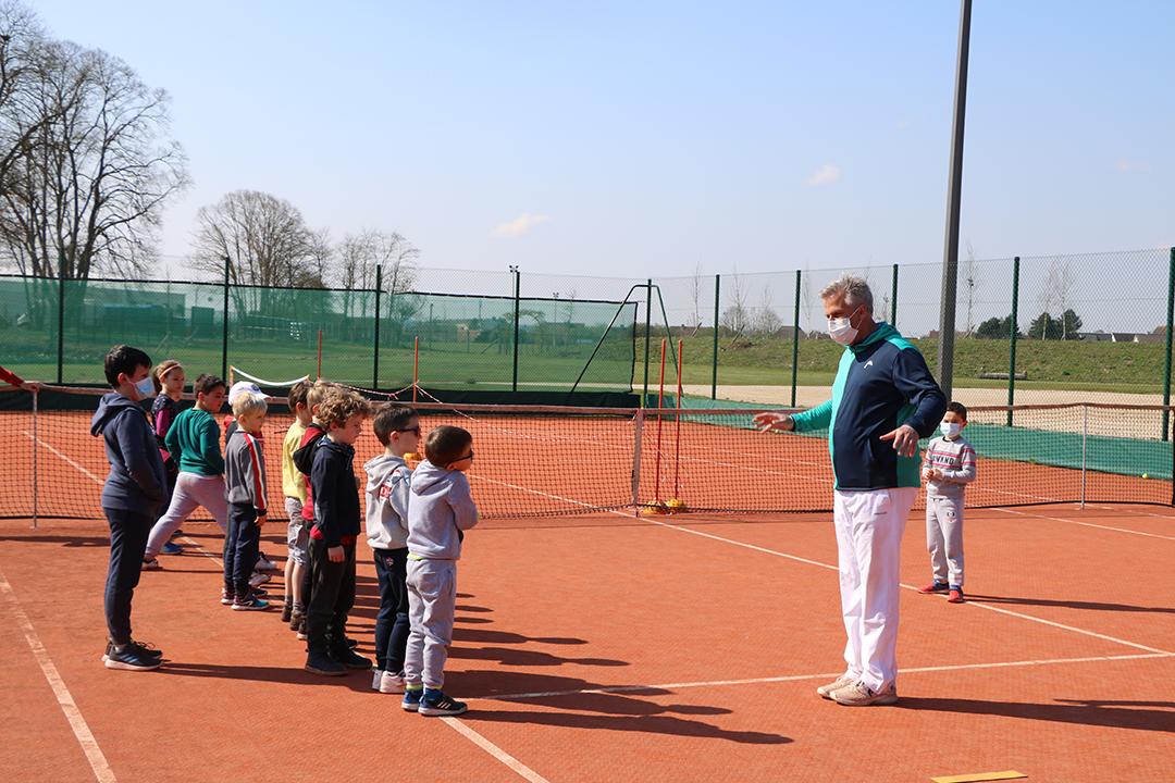 Stage école du Tennis Club Beauvais Oise Tennis