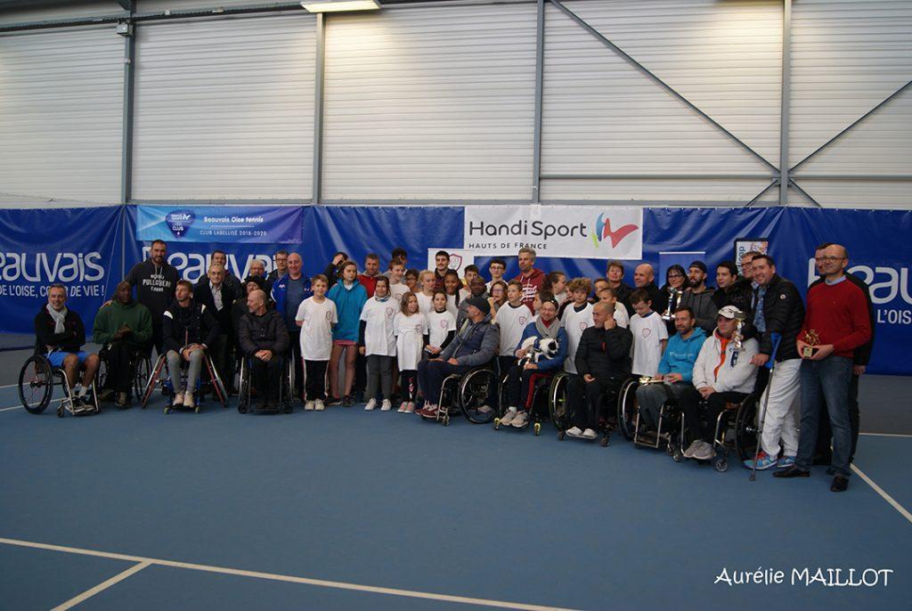 Tennis fauteuil au Beauvais Oise Tennis