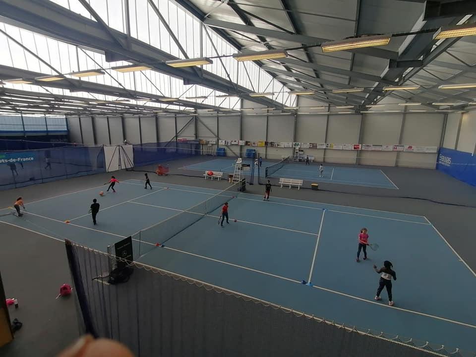 Le Tennis à l'école au BOT à Beauvais