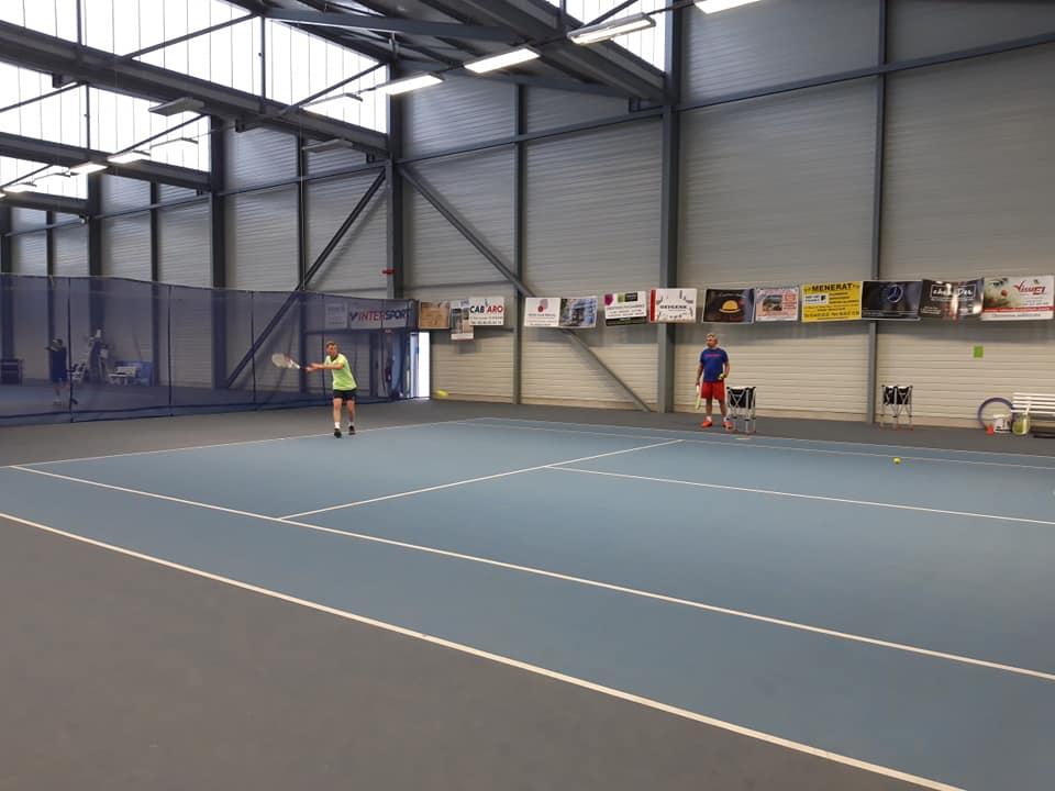 Cours adultes au Beauvais Oise Tennis jusqu'au mois de juillet