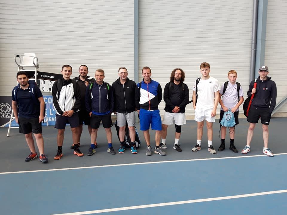 Match retour TC Laversine et Beauvais Oise Tennis
