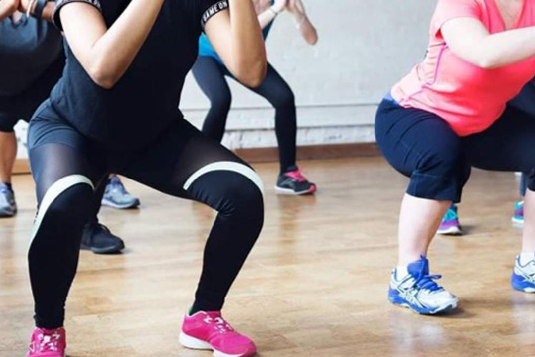 Cours de fitness au BOT