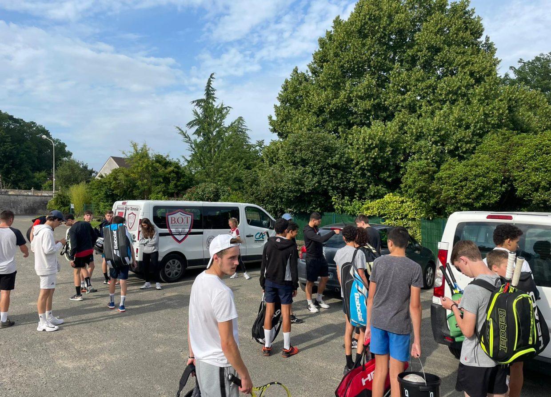 12 jeunes talents en tournois Beauvais Oise Tennis